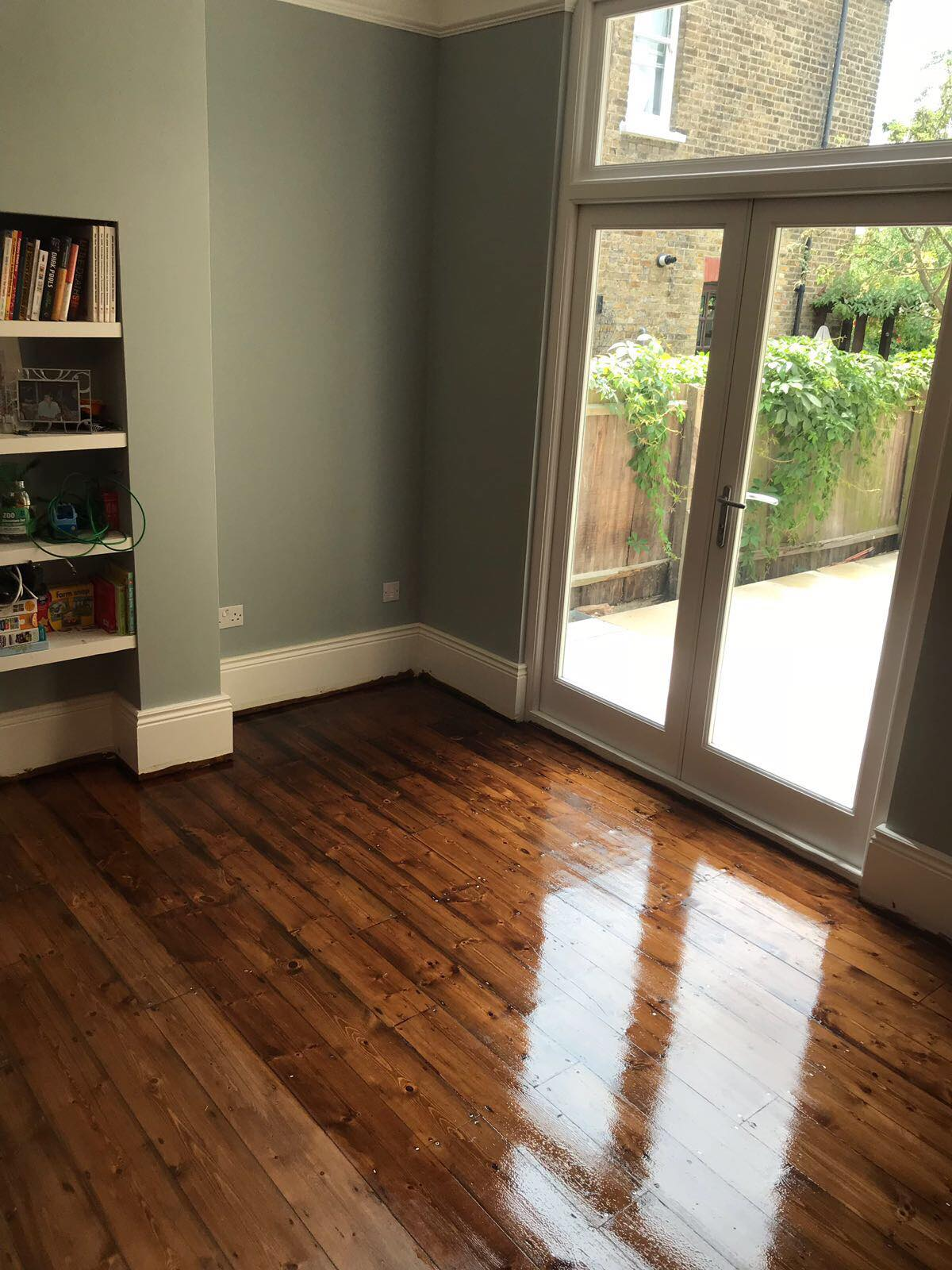 Floor sanding in Bromley